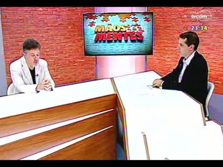 Mãos e Mentes - Publicitário Marcelo Pires - Bloco 1