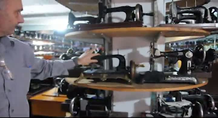 Museu das máquinas de costura