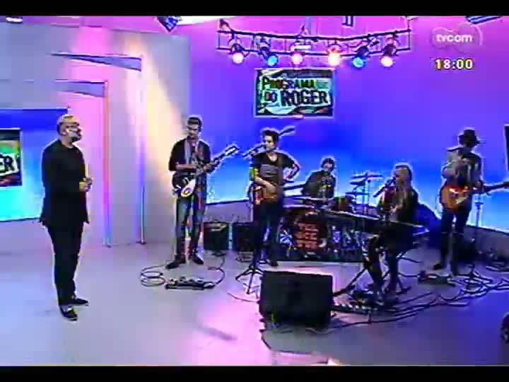Programa do Roger - Confira a apresentação da banda Velocetts - bloco 2 - 13/05/2013