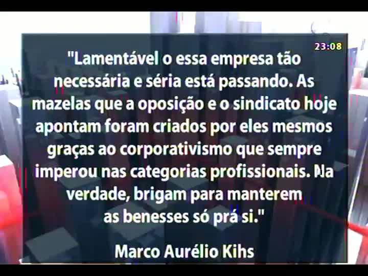 Conversas Cruzadas - Debate sobre as suspeitas de irregularidades no plano de saúde da Procempa - Bloco 4 - 29/05/2013