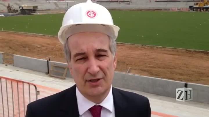 Giovanni Luigi fala sobre novo Beira-Rio