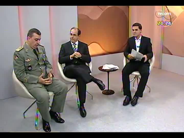 TVCOM 20 Horas - Confira a avaliação do trabalho da polícia durante as manifestações na Capital - Bloco 3 - 17/06/2013