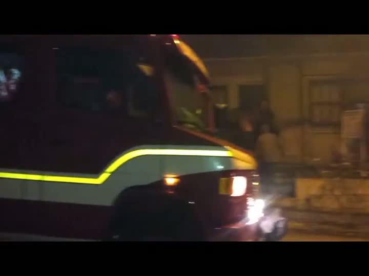 Incêndio deixa policial militar ferido em Santa Maria. 06/07/2013