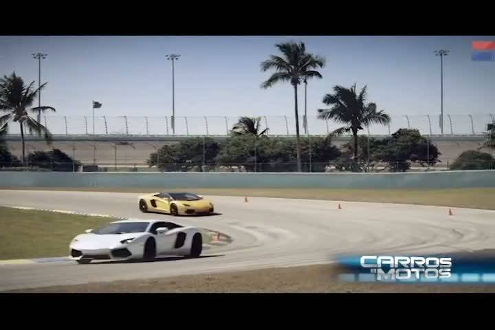 Carros e Motos - Conheça a nova Lamborghini Aventador Roadster - Bloco 3 - 01/09/2013