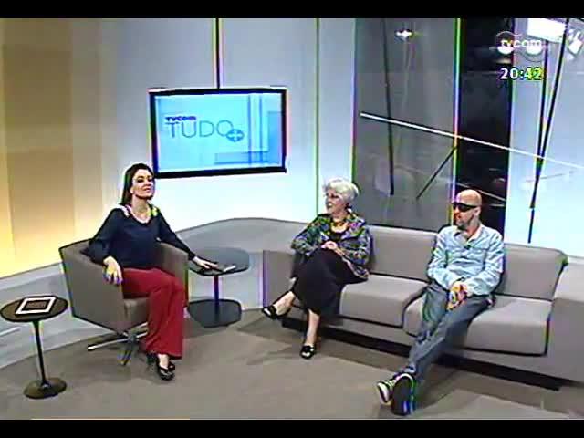TVCOM Tudo Mais - Série \'Patronáveis\': Sara Bodowsky conversa com Maria Carpi e Fabrício Carpinejar - parte 1