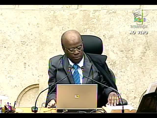 TVCOM 20 Horas - Discussão sobre prorrogação da decisão do novo julgamento no mensalão - Bloco 2 - 12/09/2013