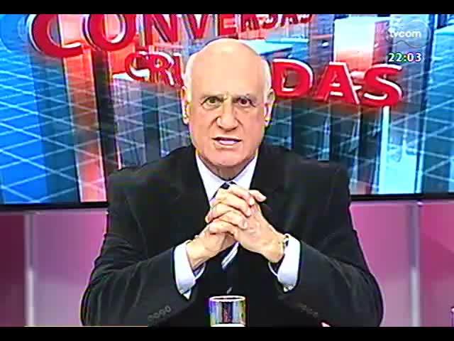 Conversas Cruzadas - Advogados fazem análise da do julgamento do Mensalão - Bloco 1 - 18/09/2013