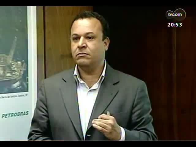 TVCOM 20 Horas - Prefeito de Fortunati fala sobre resultados de reunião com governo federal para negociar repasse para o metrô - Bloco 4 - 19/09/2013