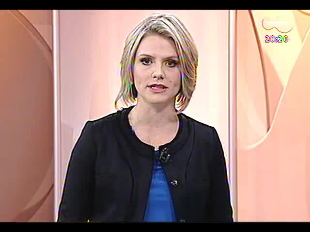TVCOM 20 Horas - Entrevista sobre o fim da promoção automática na Brigada Militar - Bloco 3 - 29/10/2013
