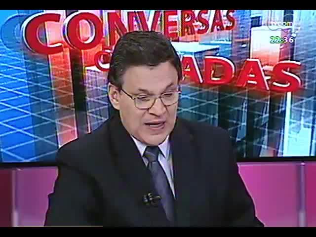 Conversas Cruzadas - Debate sobre o projeto de emenda à Constituição que proíbe a divulgação de pesquisas eleitorais 15 dias antes do pleito - Bloco 2 - 29/10/2013