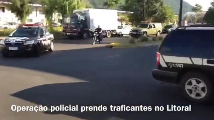 Operação policial prende traficantes no Litoral Norte gaúcho. 19/12/2013
