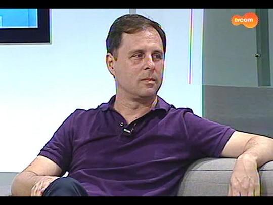 TVCOM Tudo Mais - Cofira entrevista com o repórter da Rede Globo Marcelo Canellas