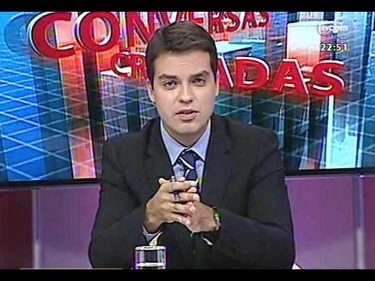 Conversas Cruzadas - Debate sobre pesquisa que revelou que 94% moradores da favela se consideram felizes - Bloco 3 - 24/02/2014