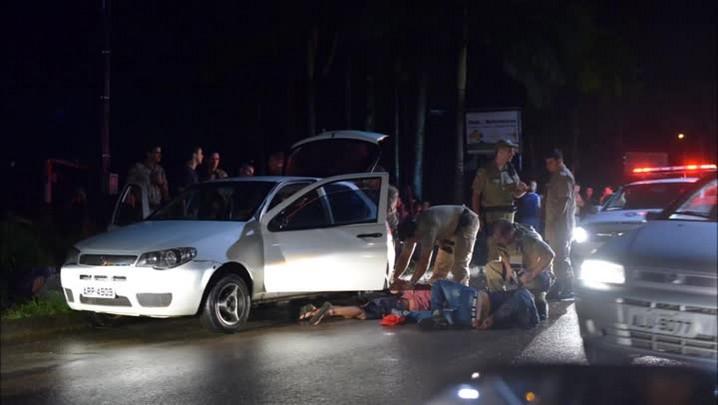 Cinco são presos após assalto a padaria em Joinville