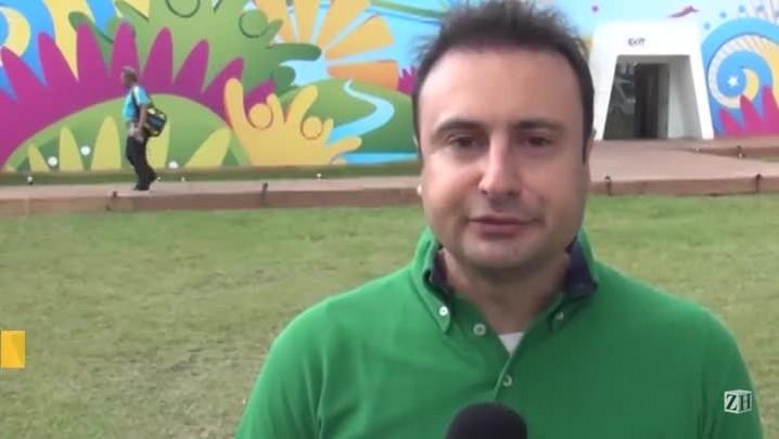 Estrutura abrigará milhares de jornalistas na Copa
