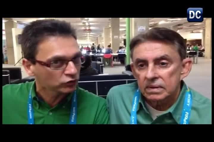 Marcos Castiel e Roberto Alves discutem sobre o clima pré-Copa às vesperas da abertura