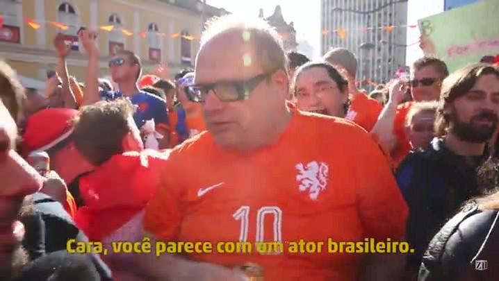 Plantão #LaCopa: Zé Victor Castiel é holandês!