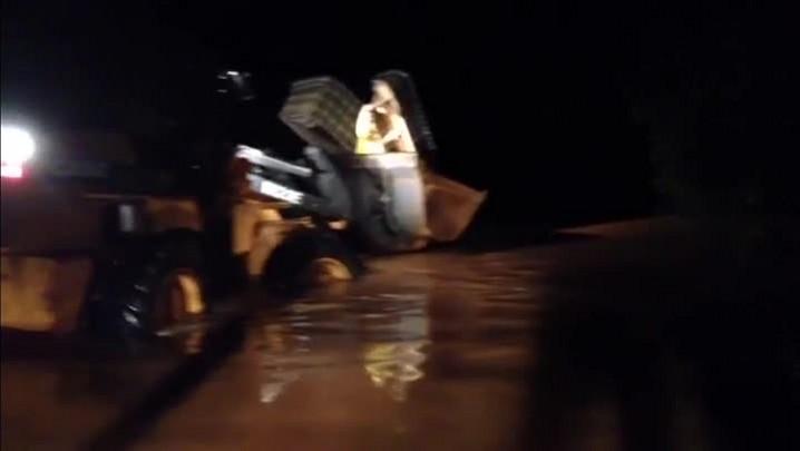 Cheia do Rio Uruguai deixa 400 famílias fora de casa em Iraí