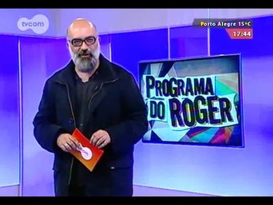 """Programa do Roger - Marcelo Delacroix em \""""Como se fora brincadeira de roda\"""" - Bloco 1 - 11/09/2014"""
