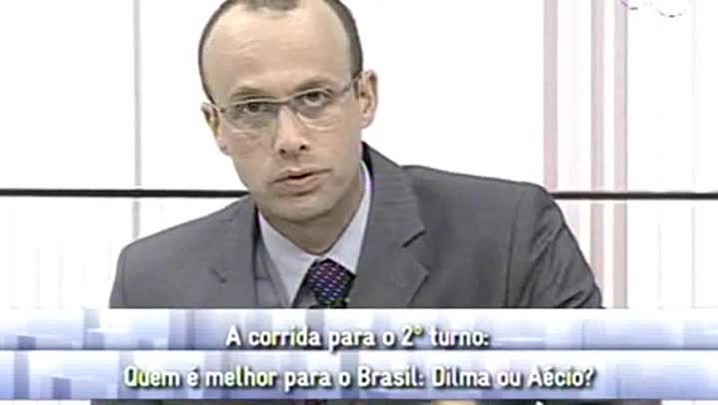 Conversas Cruzadas - Dilma x Aécio - 3ºBloco - 09.10.14