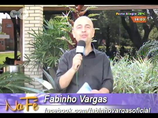 Na Fé - Clipes de música gospel e bate-papo com Ezequias Lacerda - 02/11/2014 - bloco 1
