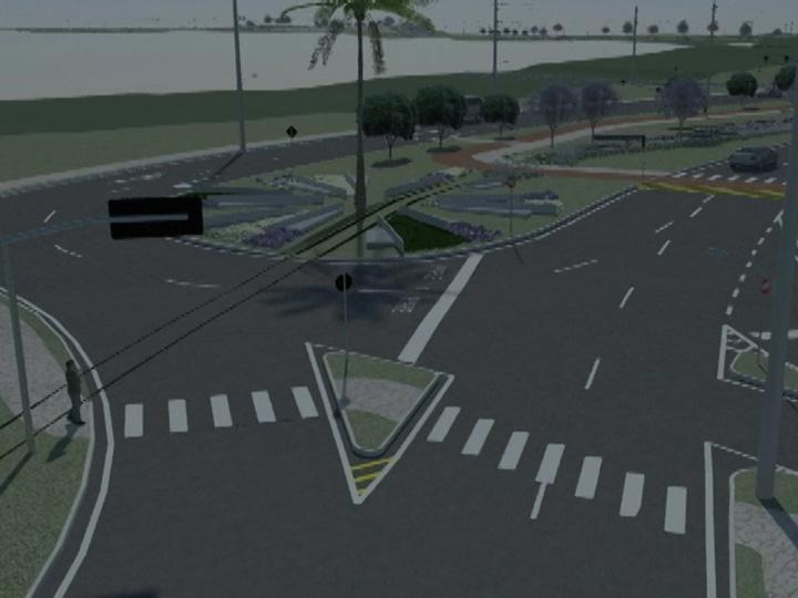 Projeto de pavimentação e melhoria do acesso ao bairro Desvio Rizzo
