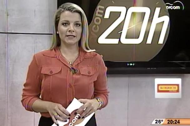 TVCOM 20h - Bairro Monte Cristo continua sendo monitorado - 2.12.14