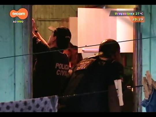 TVCOM 20 Horas - Operação prende 62 pessoas por envolvimento com tráfico de drogas - 12/12/2014