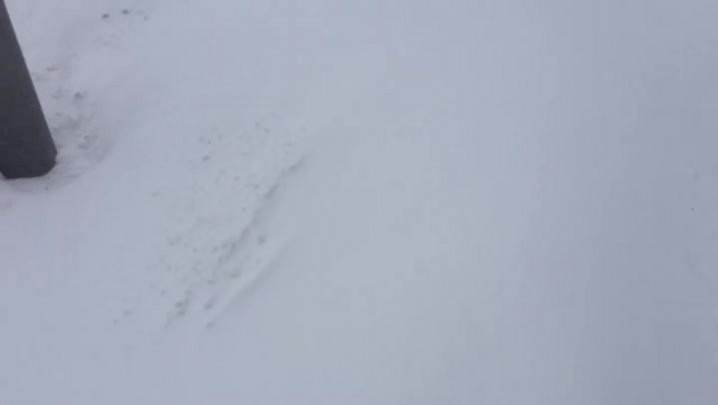 Confira vídeo do joinvilense Anderson Silva, que está enfrentando a nevasca norte-americana