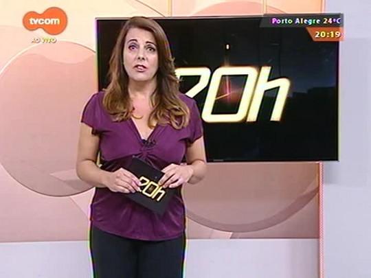 TVCOM 20 Horas - Receita estadual fez operação para combater a sonegação de ICMS no RS - 17/03/2015