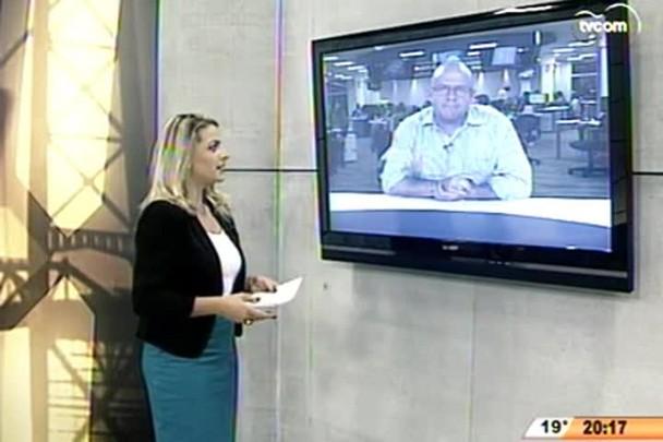 TVCOM 20 Horas - Sindicato da PRF-SC protesta contra o baixo efetivo da instituição - 30.04.15