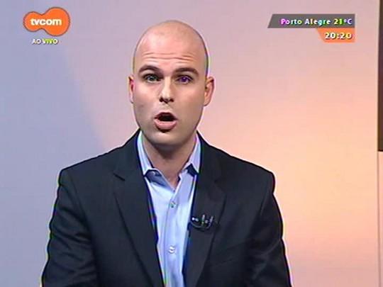 TVCOM 20 Horas - Ajuste fiscal pode impactar em obras previstas para o estado - 19/05/2015