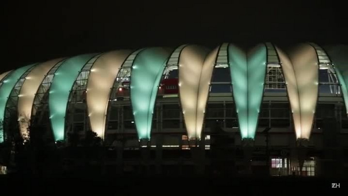 Beira-Rio fica verde e amarelo para receber a Seleção Brasileira