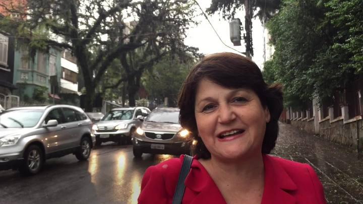 Rosane de Oliveira revela qual é sua rua favorita em Porto Alegre