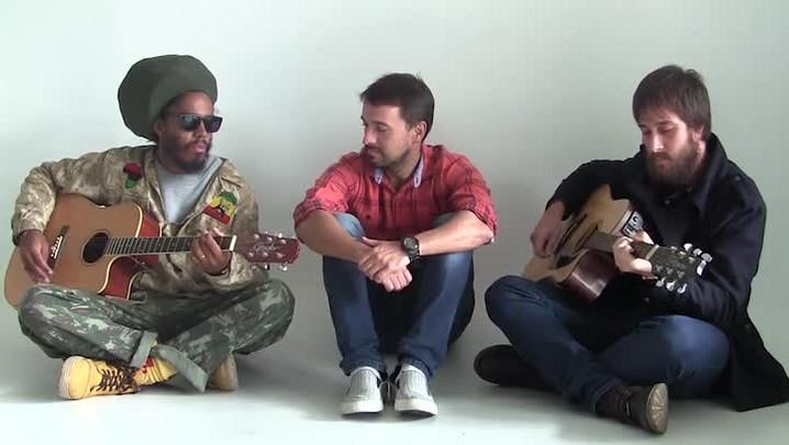 Retratos da Fama TV com os vocalistas dos grupos gaúchos do SuperStar