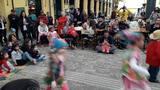 Tradição do boi de mamão é mantida por crianças da educação infantil de Florianópolis