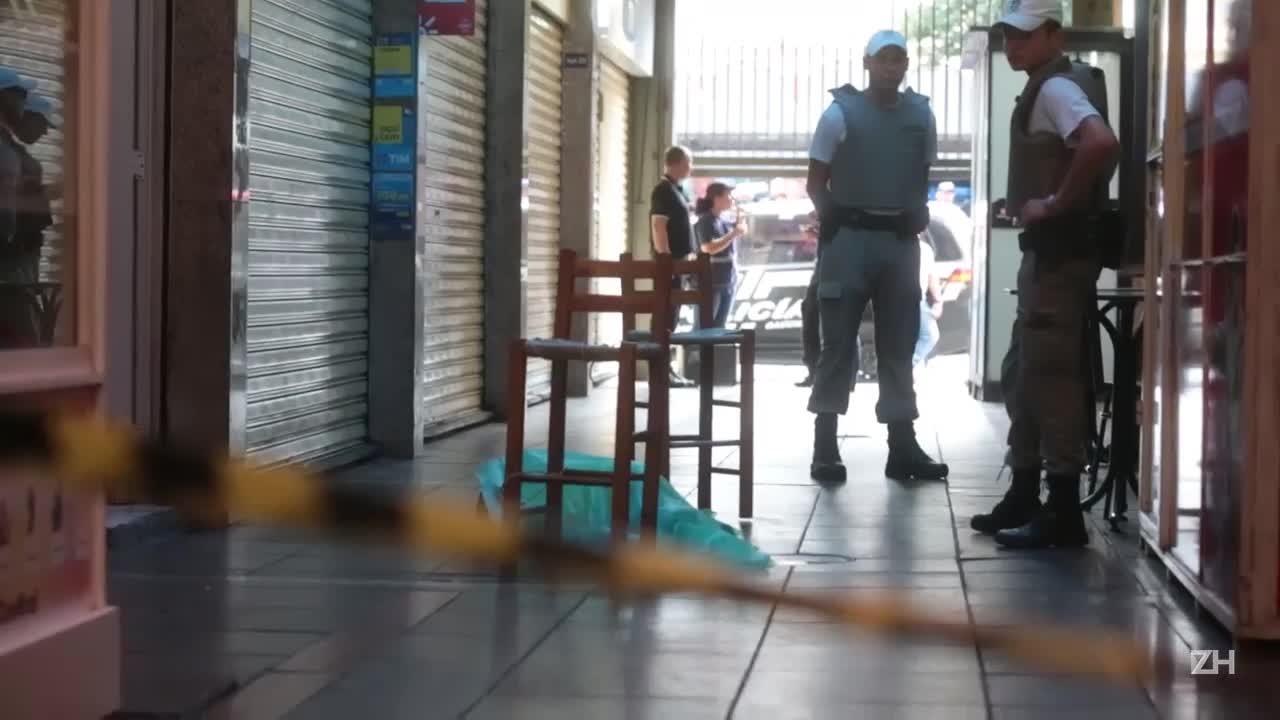 Homem é morto dentro de galeria em Porto Alegre