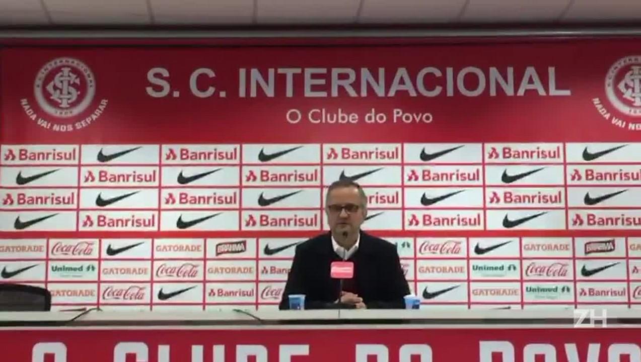 Roberto Melo fala sobre atuação do Inter na vitória sobre o Luverdense
