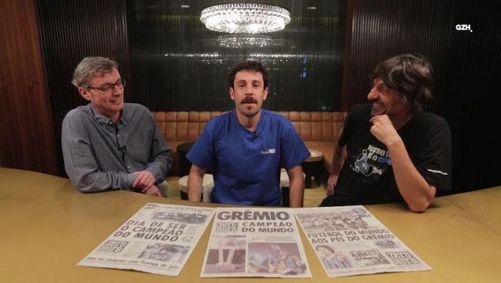 David e Peninha contam a Duda Garbi como foi o título de 83 e como era o mundo na época