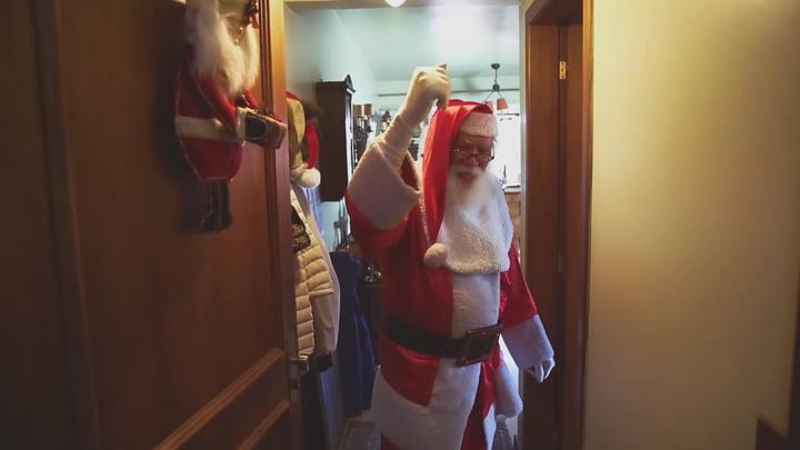 Papai Noel (quase) de verdade