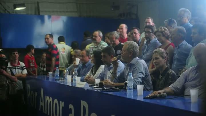 Depois de vitória, Fortunati fala dos candidatos concorrentes