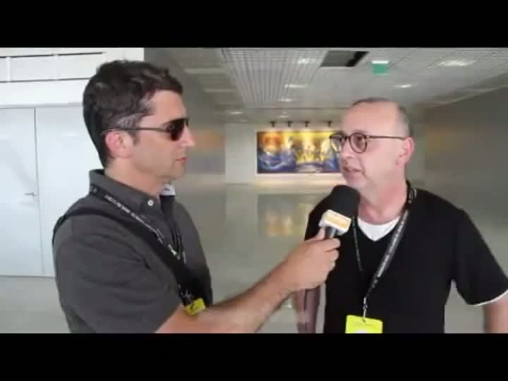 Sérgio Boaz e Nando Gross falam sobre a inauguração da Arena. 08/12/2012