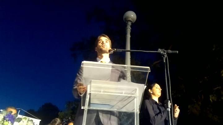 Eduardo Leite defende diálogo e parceria entre setores durante discurso de posse em Pelotas