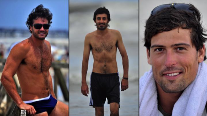 """Gurias revelam o que \""""museia\"""" e \""""desmuseia\"""" um homem na praia"""