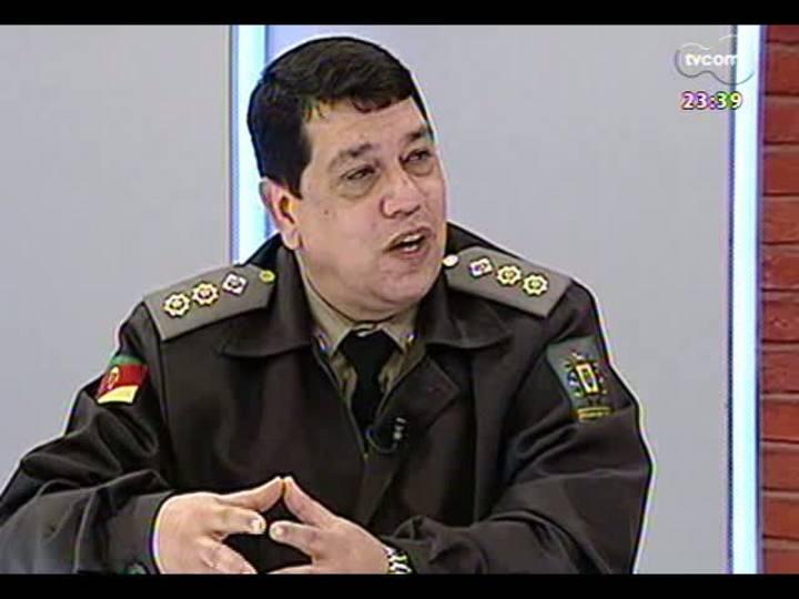 Mãos e Mentes - Diretor do Presídio Central de Porto Alegre, tenente-coronel Osvaldo da Silva - Bloco 4 - 23/06/2013