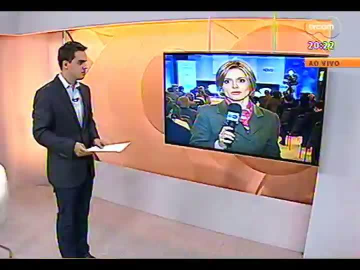 TVCOM 20 Horas - Presidente da Fiergs faz uma projeção do desempenho da indústria gaúcha no segundo semestre - Bloco 3 - 12/08/2013