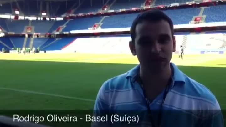 Suíça X Brasil: Confira reportagem especial sobre o amistoso da Seleção Brasileira em Basel - 13/08/2013