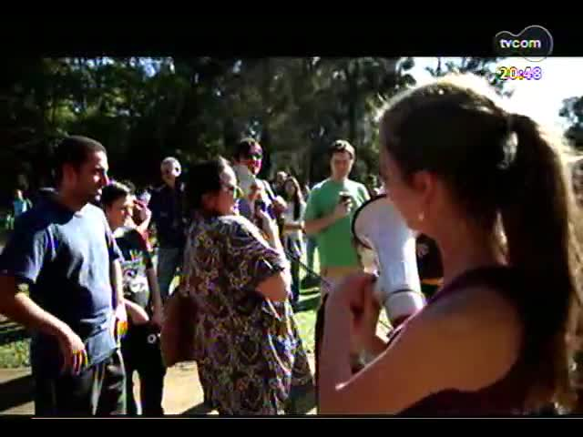 TVCOM Tudo Mais - Conheça a ação que os alunos do colégio Farroupilha promoveram na Redenção