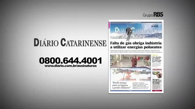 Chamadas Diário Catarinense 08 de novembro de 2013