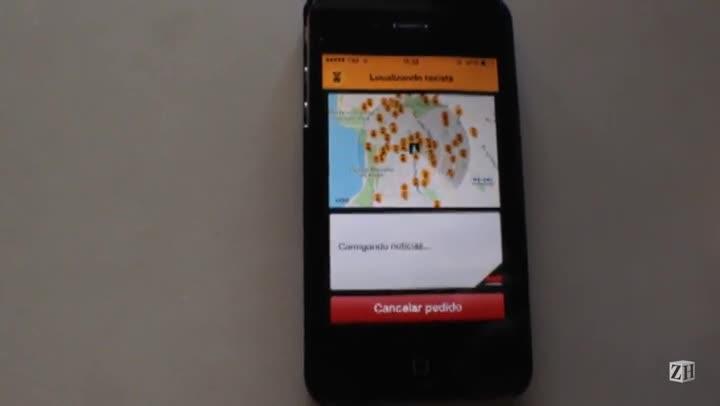 Veja como chamar um táxi por aplicativo